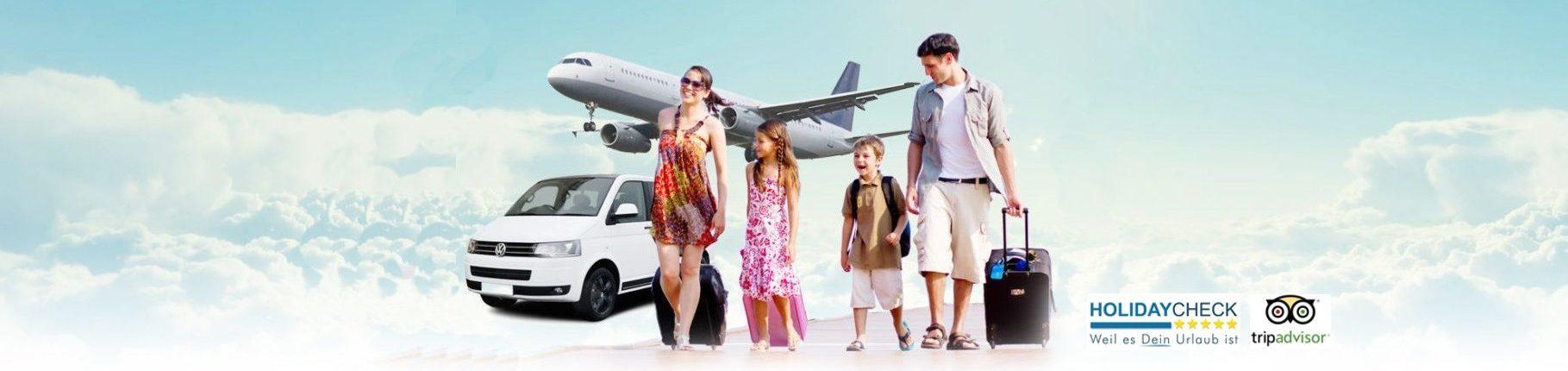 Airport Transfer to Kusadasi, Didim, Marmaris, Cesme